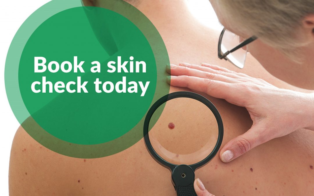 Did you know we can do skin checks?